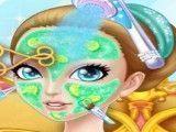 Tratamento facial da princesa