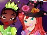 Princesas fantasias do Halloween