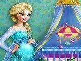 Decorar quarto do bebê da Elsa grávida