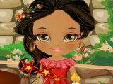 Princesa Elena decorar bolo