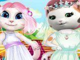 Callie e Angela noivas