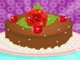 Jasmine bolo de chocolate