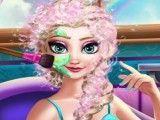 Elsa grávida limpeza de pele