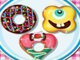 Receita de donuts formatos divertidos