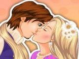 Rapunzel beijar namorado na moda