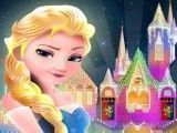 Elsa puzzle do castelo