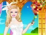 Barbie vestido de noiva colorido