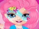 Bebê Barbie máscara da My Little Pony