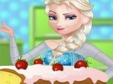 Fazer bolo da Elsa Frozen