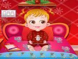 Bebê Hazel aventuras do natal