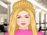 Kendall no cabeleiro e amigas