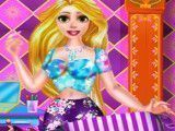 Bolsa decorada da princesa Rapunzel
