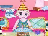 Limpar festa de aniversário da bebê Elsa