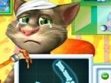 Gato virtual Tom no médico