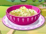 Salada de batata preparar