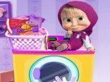 Masha e  Bear lavanderia