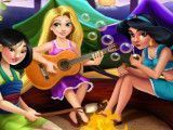 Princesas acampamento