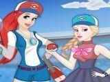 Roupas das princesas caçar Pokemon
