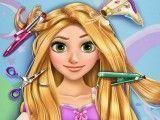 Rapunzel no cabeleireiro