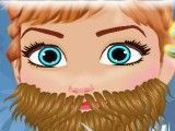 Fazer barba da Anna Frozen