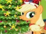 Applejack árvore de natal