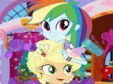 My Little Pony Appljack salão de beleza