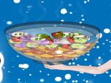 Preparar salada de vegetais da Elsa