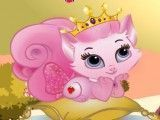Cuidar da gatinha princesa