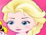Bebê Elsa fazer cookies