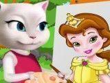 Pintar quadro com Angela