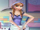 Anna limpar cozinha