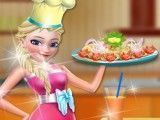Receita de frango com brócolis da Elsa