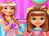 Anna cabeleireira da princesa