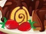 Rocambole de chocolate preparar receita
