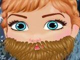 Frozen Anna fazer barba