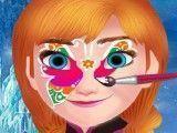 Pintar rosto da Anna Frozen
