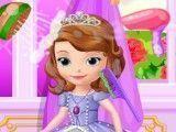 Princesa Sofia lavar cabelos