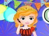 Princesa Sofia festa de réveillon