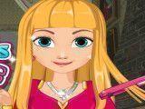 Anna penteado para escola