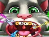 Tom gato dentista