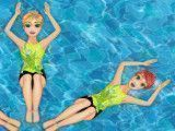 Princesas nado sincronizado