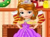 Princesa Sofia decorar natal