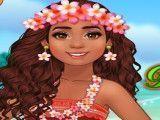 Princesa Moana moda verão
