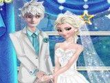 Jack e Elsa casamento decorar