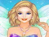 Fada Barbie roupas de glitter