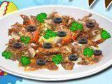 Receita de salada de caranguejo