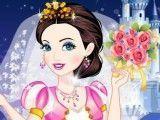 Cinderela roupas de noiva