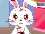 Elsa veterinária do coelho