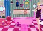 Barbie decorar banheiro