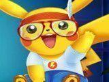 Pikachu no médico e vestir